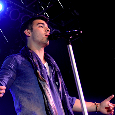 Joe Jonas at the House of Blues
