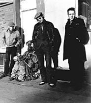 "Joe Strummer (far right): ""Always a special geezer."""