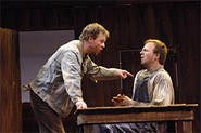 John Steinbecks Of Mice and Men is at the Play - House through January 28.
