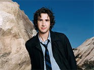 Josh Groban: Real pipes, fake mountains.