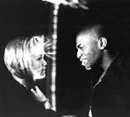 Julia Stiles and Mekhi Phifer play Desi and Odin in O.