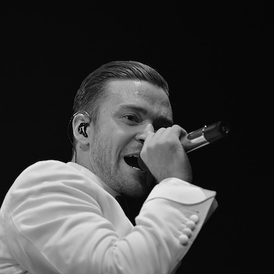 Justin Timberlake Performing at the Q