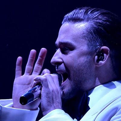 Justin Timberlake Performing at the Q