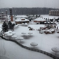 20 Photos of Snowy Ohio Amusement Parks Kalahari, Sandusky, February 2014 Photo via Cedar Point, Facebook