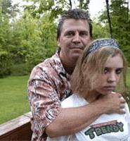 Kalie Kaminski, with her father, Mark. - WALTER  NOVAK