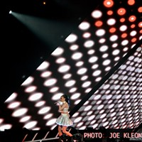 Katy Perry Performing at Quicken Loans Arena