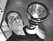 Ken Summers, paranormal investigator. - WALTER  NOVAK