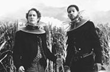 Kevin Kline (left), and Will Smith are bogged down under gadgetry and tired lines.