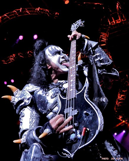 KISS Performing at Blossom Music Center