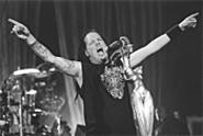 Korn's Jonathan Davis pulled out all the stops at - Ozzfest last Tuesday. - WALTER  NOVAK