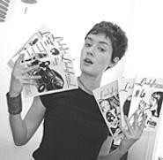 Ladyfriend and Free Advice creator - Christa Donner brings her Interactive Zine Tour to - town Friday.