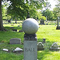 "14 Historical Celebrities Buried in Cleveland Lakeview Cemetery; American songwriter born in Cleveland most famous for his composition ""When Irish Eyes Are Smiling"" in 1912; was not Irish himself!"