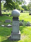 "Lakeview Cemetery; American songwriter born in Cleveland most famous for his composition ""When Irish Eyes Are Smiling"" in 1912; was not Irish himself!"