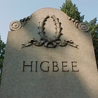 14 Historical Celebrities Buried in Cleveland Lakeview Cemetery: The father of Higbee's -- originally Higbee & Hower Dry Goods, and ultimately Dillard's.