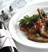 Lamb chops are just one of the specialties mastered by Michael Annandono. - WALTER  NOVAK
