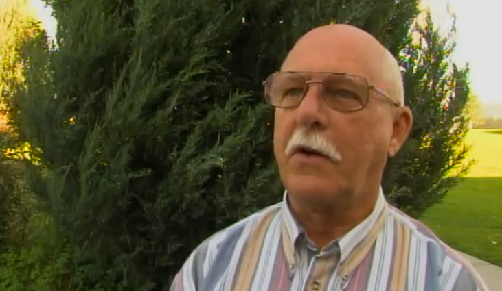 Lee Dalton in an unrelated June 2013 television news story.