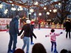 Lit-up stars above and pink ice beneath your skates, the Wade Oval Rink is sure to get you in the Valentine's Day mood. Admission is free, skate rentals are just $3, and the rink stays open until 9 p.m.