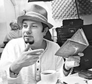 Little Louie Vega explicates Elements of Life - over a cup of hot java.