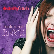Local Glam Band Vanity Crash Rocks Hard on 'Rock n Roll Junkie'