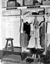 Locker room, 1939.