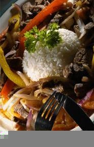 Lomo saltado: Peru's tasty take on stir-fried beef and veggies. - WALTER  NOVAK