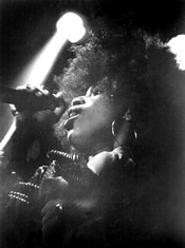 Macy Gray at her March 16 Odeon show. - WALTER  NOVAK