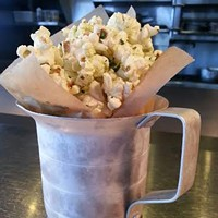 9 Wild Cleveland Eats for the Adventurous Local Foodie Many versions of popcorn have been popping up lately, but The Willeyville's is the most extreme and delicious. Served on their dinner menu, the spicy phat popcorn is tossed with pork fat, cilantro & jalapeno powder, and lime zest. Photo via Yelp
