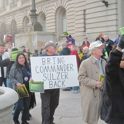 March 31 Rally for Keith Sulzer