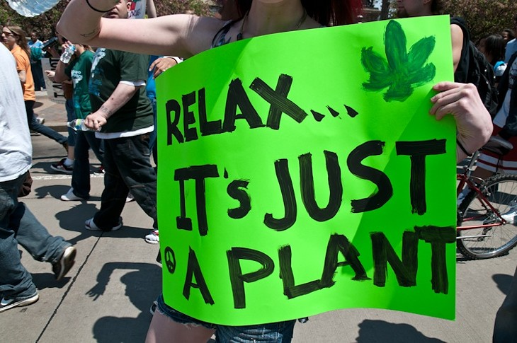 Marijuana March on Public Square
