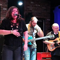 Bad Boys of Blues Jam Night Mary Bridget Davies and Ben Nieves join Michael Bay and the Bad Boys of Blues onstage at Brothers Lounge. JOE KLEON