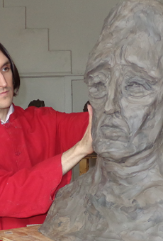 Meet the Sculptor Who's Devoted a Third of his Life to Making Art he's Allowed Very Few to See
