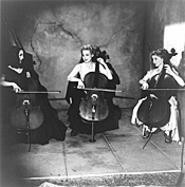 Melora Creager (right) leads Rasputina, a division of - the Ladies' Cello Society.