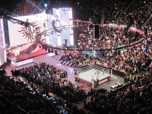 Monday Night RAW at the Q