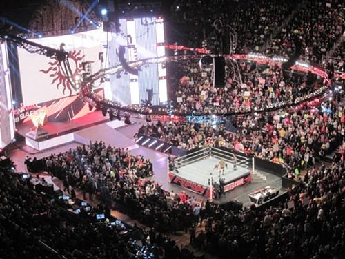 Monday Night RAW at the Q