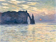 Monets Normandy is on display at the art museum through - May 20.