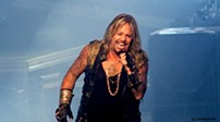 Vince Neil performing at Blossom in 2014. - DAVID KEMP