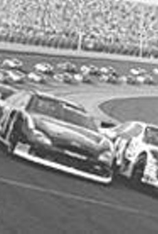 NASCAR race cars were among the purchases the      alleged con artists made.