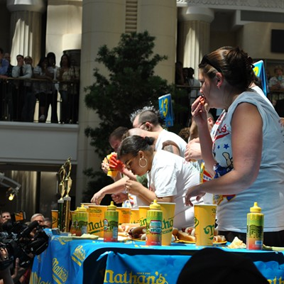 Nathan's Hot Dog Eating Contest Qualifier