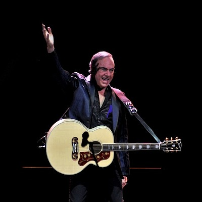 Neil Diamond at The Q