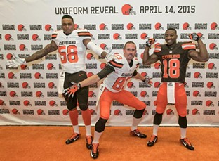 We see you, Hartline. - CLEVELAND BROWNS