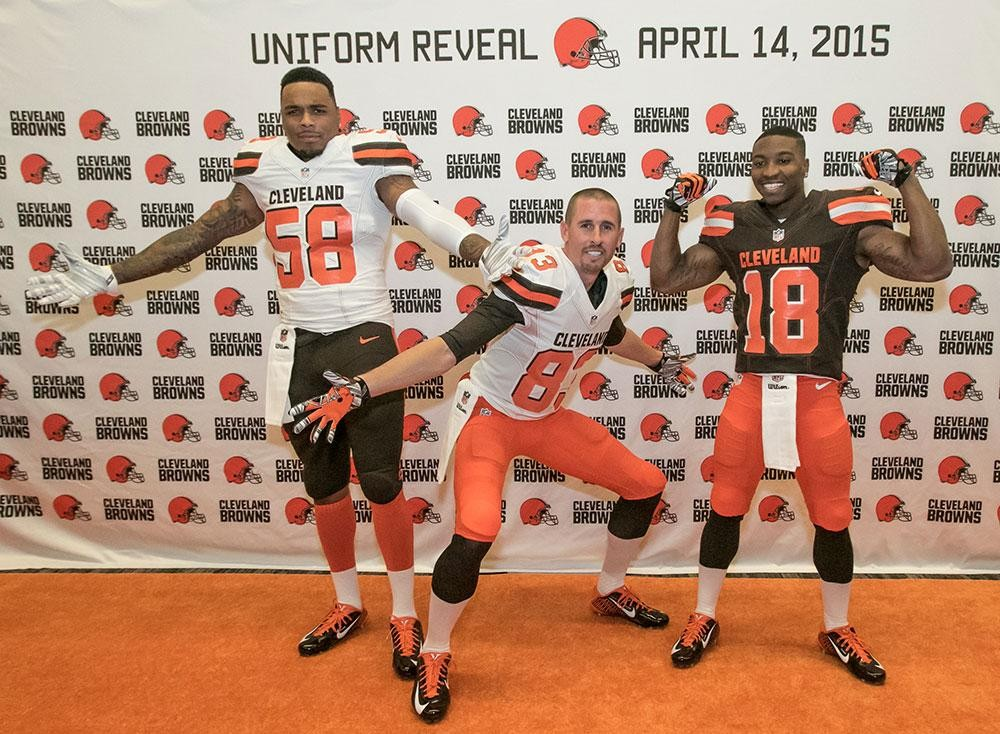 sneakers for cheap 1370a e2fc6 New Browns Unis are the Only Ones in NFL with City Name on ...
