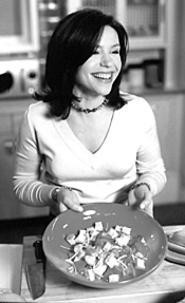 Nice dish: The Food Network's Rachael Ray cooks up - something tasty at Sur La Table (Wednesday).