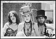 Nice hats. Cello rockers Rasputina strike up their - bows on Thursday.