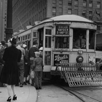 20 Photos of Old Cleveland Streetcars No specified location, circa 1940 Cleveland Memory Project