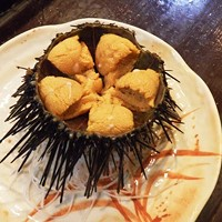 9 Wild Cleveland Eats for the Adventurous Local Foodie Not for the sushi novice, the urchin is cracked open live and eaten. Good luck! Photo via Yelp