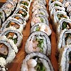 Not to be mistaken for the Tomo on east 9th, this Strongsville landmark is home to a Sunday all-you-can-eat sushi buffet. Starting at noon, Tomo offers over 35 varieties of sushi rolls. Tomo Hibachi & Sushi Bar is located at 15163 Pearl Rd, Strongsville. Call 440-878-0760 or visit tomosushisteakhouse.com for more information.