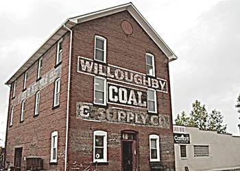 Notes From a Twilit Trip to Willoughby Coal, Among the Region's Most Haunted Buildings