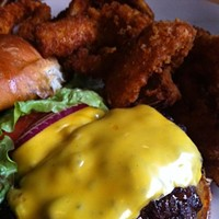 The 10 Best Drunken Eats in Cleveland Nothing soaks up alcohol better than a nice greasy burger. Even some of us might be juiced up enough to roil through McDonalds but, if you are anywhere near downtown Johnny's Little Bar is where its at. Their burger is hands down one of the best in our city, but at 1a.m. it is heaven. Johnny's Little Bar is located at 614 Frankfort Ave. Call 216-861-2166 or visit johnnyscleveland.com for more information. Photo Courtesy of Instagram User dai_mo_e
