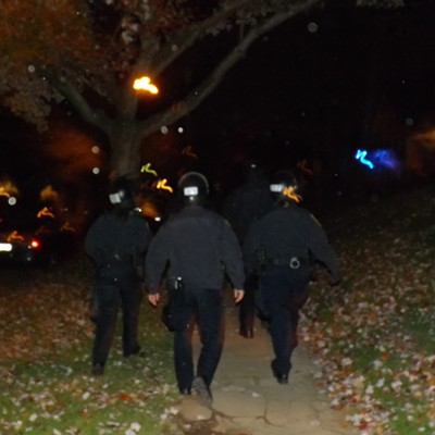 Blurry Pictures From Kent State's Halloween