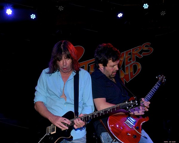 Pat Travers Performing at the Agora Ballroom